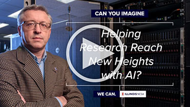 NCSA: Can You Imagine: Helping Research Reach New Heights with AI?