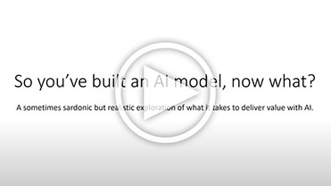 So You Built an AI Model, Now What?