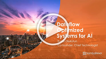 Dataflow Optimized Systems for AI