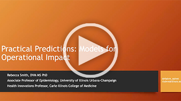 Practical Predictions: Models for Operational Impact